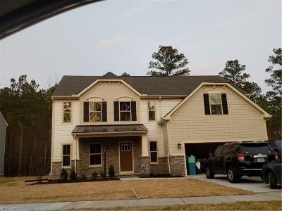 Suffolk Single Family Home New Listing: 224 Patriot's Walke Dr