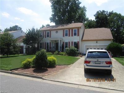 Virginia Beach Single Family Home New Listing: 5113 Stonington Ln