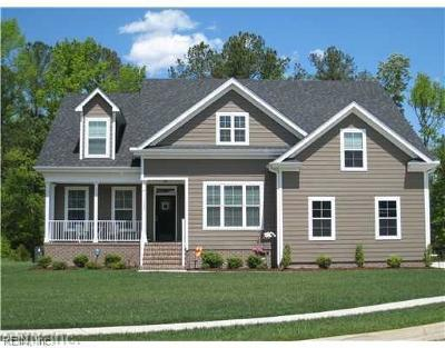 Chesapeake Single Family Home New Listing: Mm Willow Land Side Classic Package
