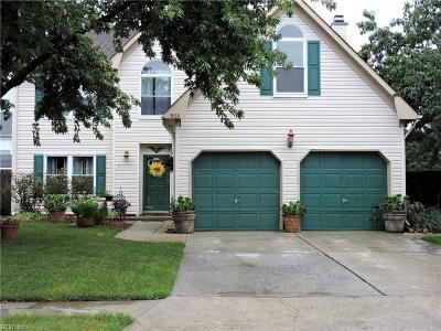 Virginia Beach Single Family Home New Listing: 3080 Polk Dr