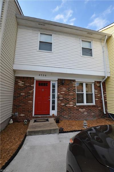Virginia Beach VA Single Family Home New Listing: $145,000
