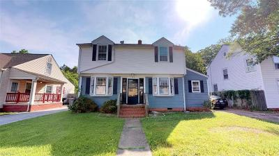 Hampton Single Family Home New Listing: 218 Chesterfield Rd