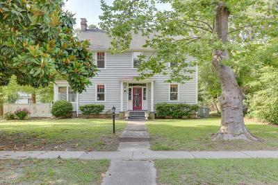 Hampton Single Family Home New Listing: 2915 Chesapeake Ave