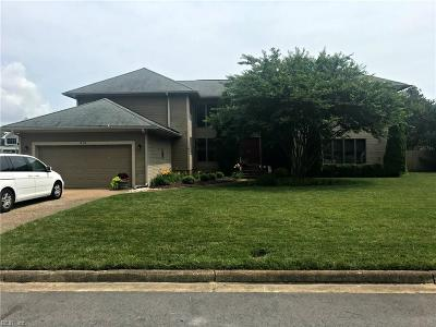 Virginia Beach VA Single Family Home New Listing: $580,000