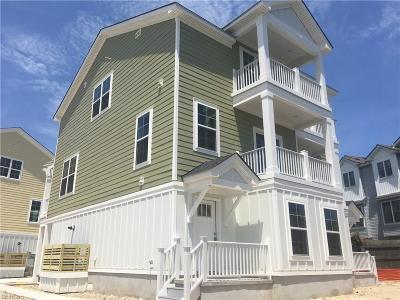 Virginia Beach Single Family Home Under Contract: 2204 D Roanoke Ave
