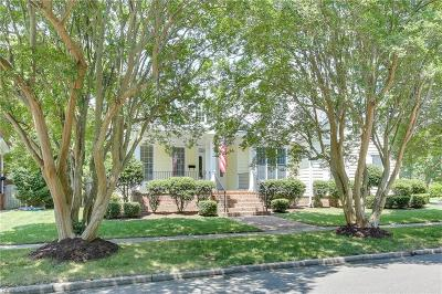 Norfolk Single Family Home New Listing: 1102 Cambridge Cres