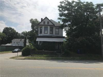 Portsmouth Single Family Home New Listing: 601 Constitution Ave