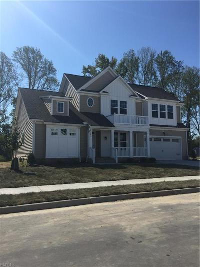 Chesapeake Single Family Home Under Contract: 429 Graphite Trl
