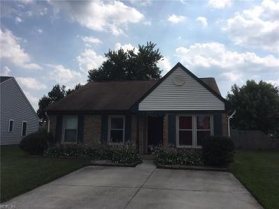 Virginia Beach Single Family Home New Listing: 937 Pine Star Ct