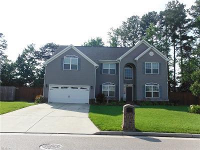 Virginia Beach Single Family Home New Listing: 3828 Ava Way