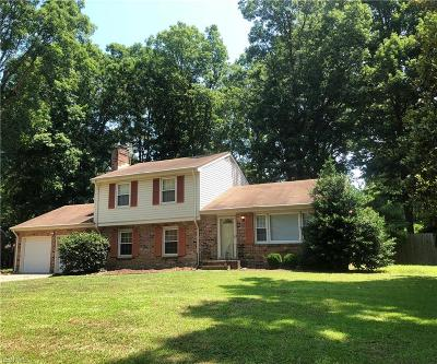 Portsmouth Single Family Home New Listing: 4113 Tarnywood Dr