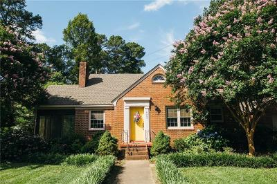 Portsmouth Single Family Home New Listing: 4609 Kemp Dr