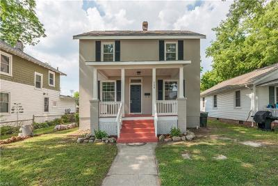 Hampton Single Family Home New Listing: 308 Columbia Ave