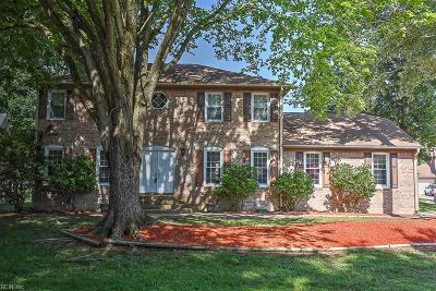 Virginia Beach Single Family Home New Listing: 1809 Roves Ln