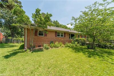 Chesapeake Single Family Home New Listing: 3425 Collins Blvd