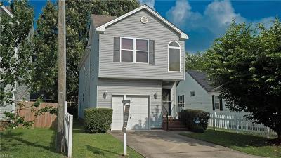 Chesapeake Single Family Home New Listing: 4159 Williamson Pl