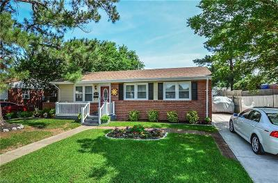 Chesapeake Single Family Home New Listing: 2913 Mayon Dr