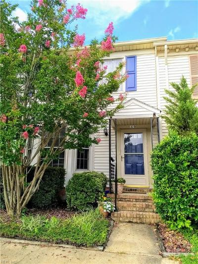 Virginia Beach VA Single Family Home New Listing: $183,999