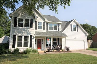 Chesapeake Single Family Home New Listing: 430 Weeping Cedar Trl