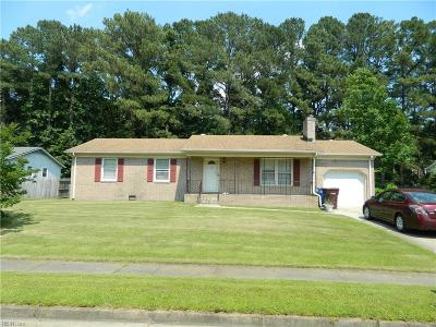 Chesapeake Single Family Home New Listing: 4404 Ashland Dr