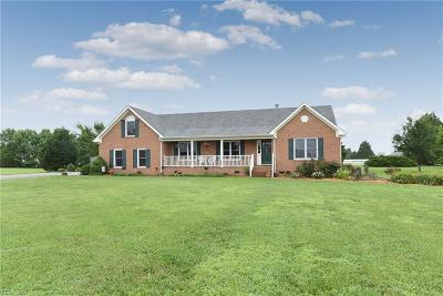 Chesapeake Single Family Home New Listing: 2417 Cedarville Rd