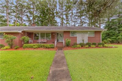 Suffolk Single Family Home New Listing: 5636 River Bluff Dr
