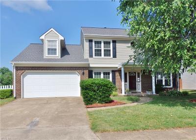 Virginia Beach Single Family Home New Listing: 4701 Brompton Dr