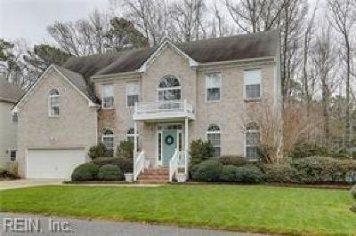 Virginia Beach Single Family Home New Listing: 2544 Lotus Creek Dr