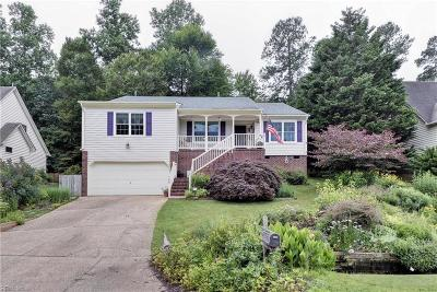 Williamsburg Single Family Home New Listing: 109 Heron Ct