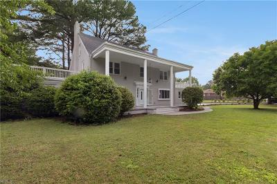 Norfolk Single Family Home New Listing: 7405 Hedgewood Ln