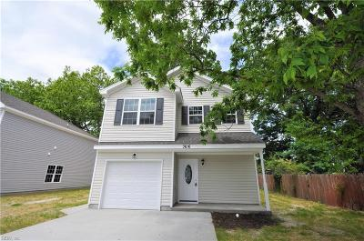 Chesapeake Single Family Home New Listing: Mm Hickory 1 E