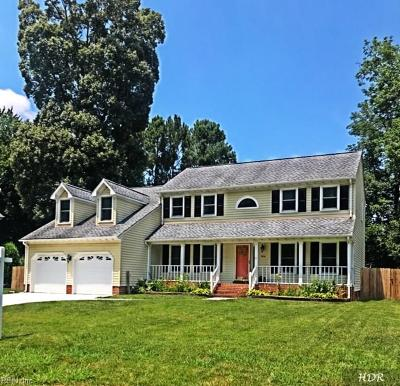 Chesapeake Single Family Home New Listing: 1916 Shady Cove Ct