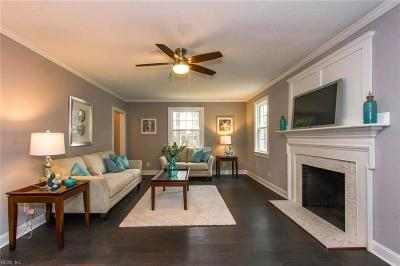 Chesapeake Single Family Home New Listing: 117 Causeway Dr