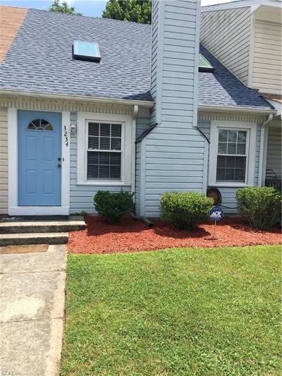 Virginia Beach Single Family Home New Listing: 3234 Creekside Dr