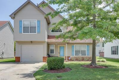 Chesapeake Single Family Home New Listing: 2307 Tawnyberry Ln