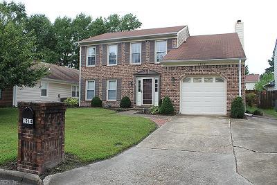 Chesapeake Single Family Home New Listing: 1914 Keeter Rn