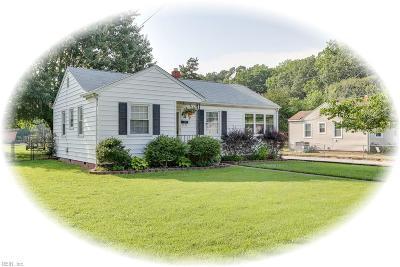 Newport News Single Family Home New Listing: 7 Matthew Rd