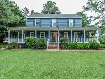 Williamsburg Single Family Home New Listing: 201 Richard Brewster