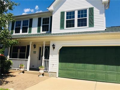 Virginia Beach Single Family Home New Listing: 3408 Stirrup Way
