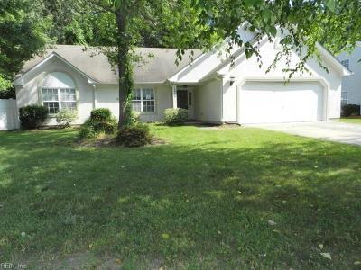 Virginia Beach Single Family Home New Listing: 2990 Sugar Maple Drive Dr