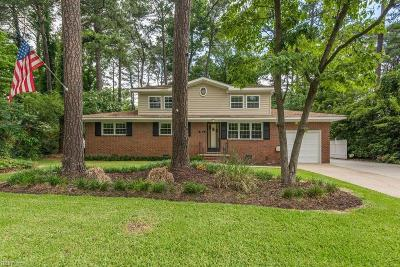 Virginia Beach Single Family Home New Listing: 5612 Sedgemoor Rd