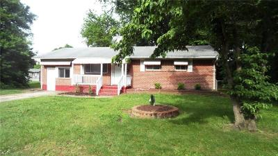 Portsmouth Single Family Home New Listing: 1603 Lyontine Ln