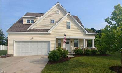 Chesapeake Single Family Home New Listing: 740 Tyler Way