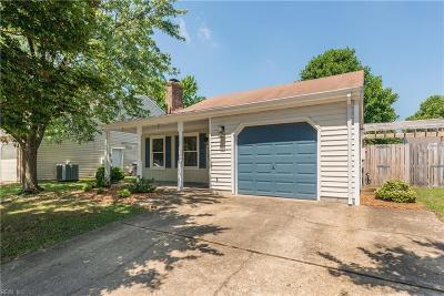 Virginia Beach Single Family Home New Listing: 5708 Glen View Dr