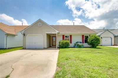 Virginia Beach Single Family Home New Listing: 913 Bernstein Ct