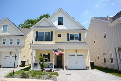 Virginia Beach Single Family Home New Listing: 520 Cape Joshua Ln