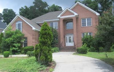 Chesapeake Single Family Home New Listing: 1322 Simon Dr