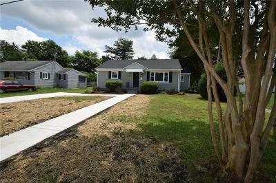 Portsmouth Single Family Home New Listing: 513 Roosevelt Blvd