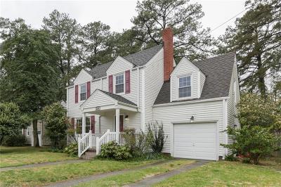 Norfolk Single Family Home New Listing: 204 Regent Rd