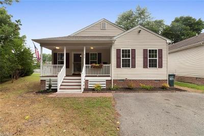 Hampton Single Family Home New Listing: 812 Rolfe St